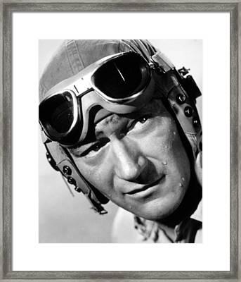 Flying Leathernecks, John Wayne, 1951 Framed Print by Everett