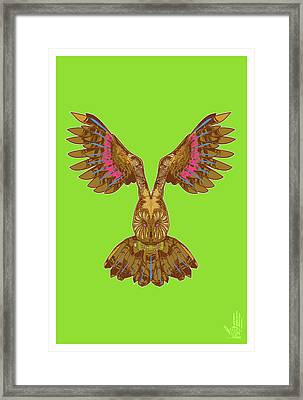 Flying Owl Framed Print