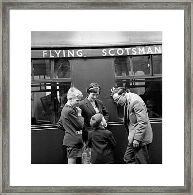 Flying Scotsman Framed Print by John Drysdale