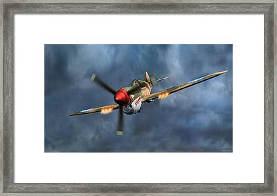 Flying Tiger P-40 Warhawk Framed Print