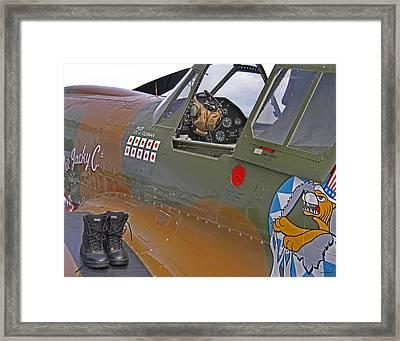 Flying Tigers 02 Framed Print by Jeff Stallard