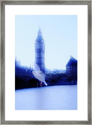 Flying Time Framed Print by Xoanxo Cespon