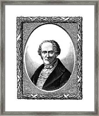 F.m.c. Fourier (1772-1837) Framed Print