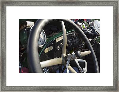 Focus Framed Print by Peter Chilelli