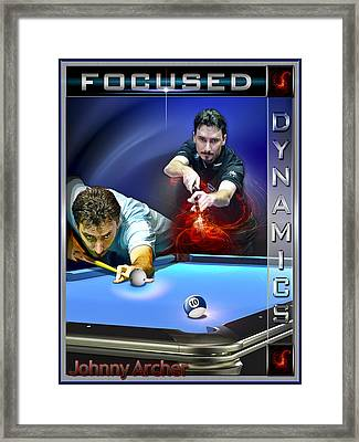 Focused Framed Print by Draw Shots
