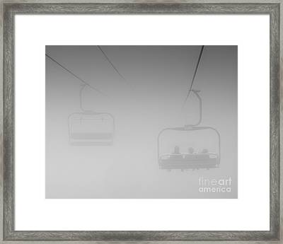 Framed Print featuring the photograph Fog by Eunice Gibb