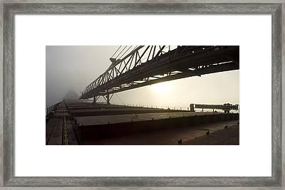 Fog Is Awesome Framed Print