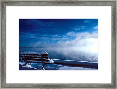 Fog Of Winter Framed Print