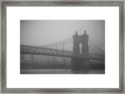 Fog Town Framed Print