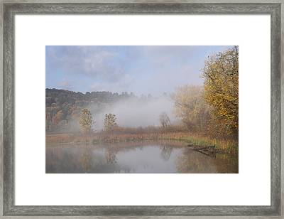 Foggy Morning  Framed Print by Doris Potter