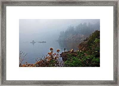 Foggy Morning Framed Print by Robert Bales