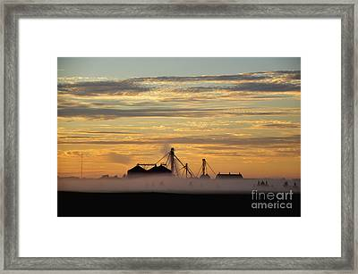Foggy Morning Framed Print by Tamera James