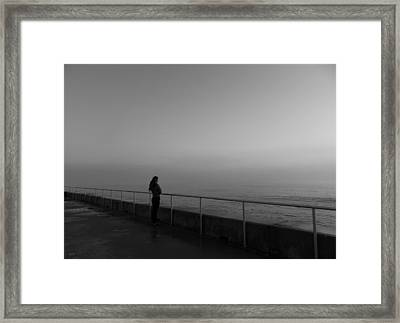 Foggy Thoughts Framed Print by David Mcchesney