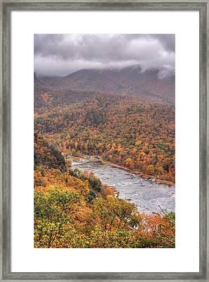 Foggy Top Framed Print by JC Findley