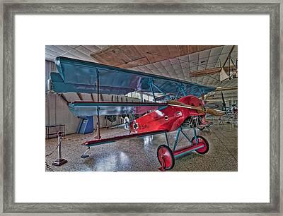 Fokker Dr 1 Framed Print by Miguel Diaz