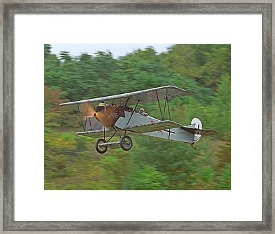 Fokker Dvii 01 Framed Print by Jeff Stallard