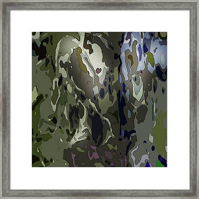 Folding Back In On Myself Framed Print by Richard Fisher