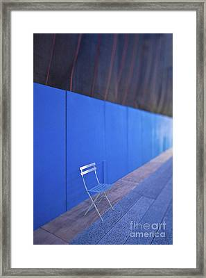 Folding Chair Framed Print by Eddy Joaquim