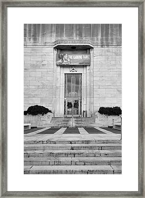 Folger Theatre I Framed Print by Steven Ainsworth