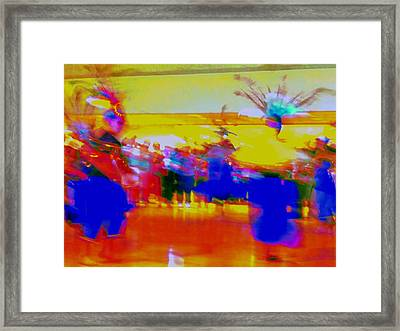 Folklorico 1 Framed Print by Randall Weidner
