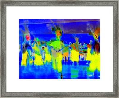 Folklorico 2 Framed Print by Randall Weidner