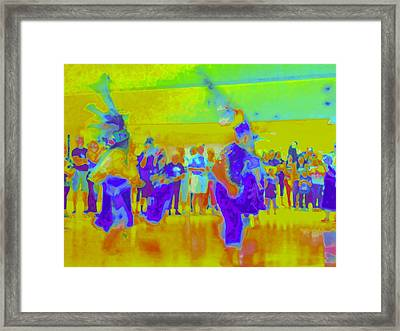 Folklorico 3 Framed Print by Randall Weidner