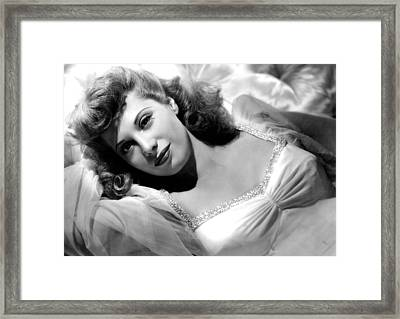 Follow The Boys, Dinah Shore, 1944 Framed Print by Everett
