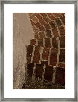 Follow The Curve Framed Print by Odd Jeppesen