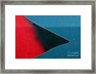 Follow The Eye Framed Print by Joan McArthur