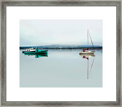Follow The Leader Framed Print by Studio Maeva