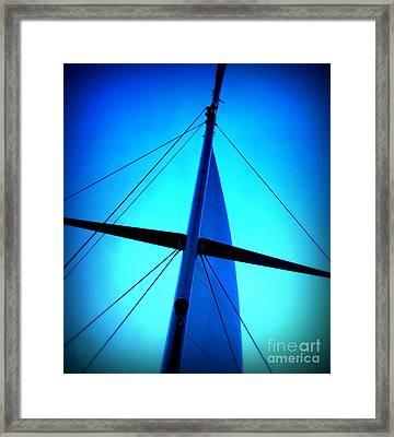 Following The Sky Framed Print