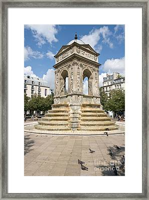 Fontaine Des Innocents I Framed Print by Fabrizio Ruggeri