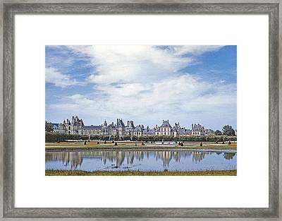 Fontainebleau Palace  Framed Print