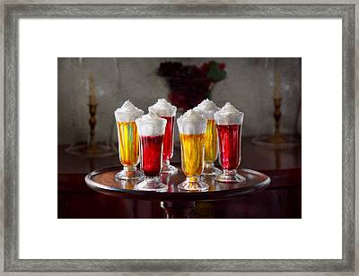 Food - Sweet - Let's Parfait All Night  Framed Print by Mike Savad