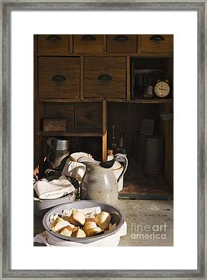 Food In A Chuck Wagon Framed Print by Jeremy Woodhouse
