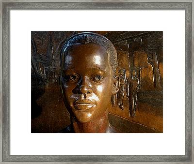 Foot Soldiers For Justice Framed Print by Warren Clark