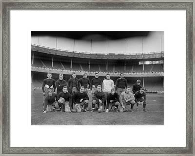 Football, All-star Football Team Framed Print by Everett