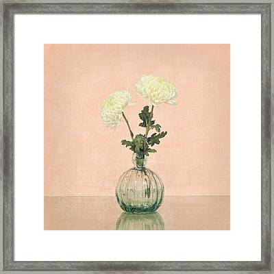 Framed Print featuring the photograph Football Mum Pink by Mary Hershberger
