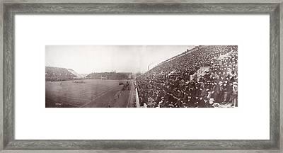 Football, Panorama Of The Harvard - Framed Print by Everett