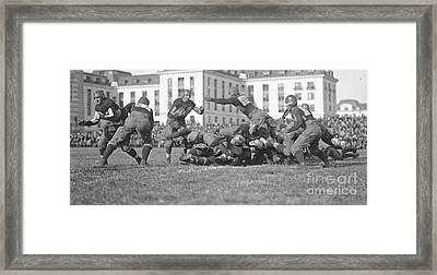 Football Play 1920 Framed Print