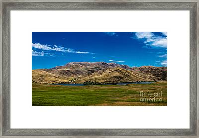 Foothills Framed Print by Robert Bales