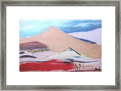 Foothills Framed Print
