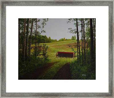 For Everything There Is A Season Framed Print by Tammy  Taylor