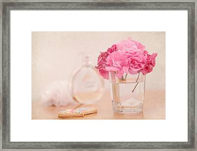 For Her Framed Print by Jenny Rainbow