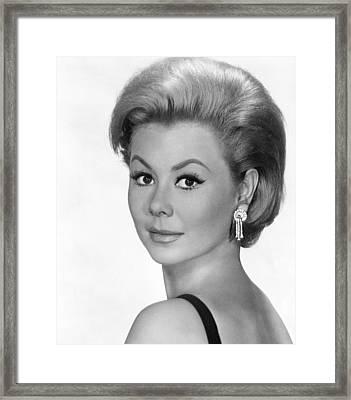 For Love Or Money, Mitzi Gaynor, 1963 Framed Print