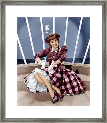 For Me And My Gal, Judy Garland, 1942 Framed Print by Everett