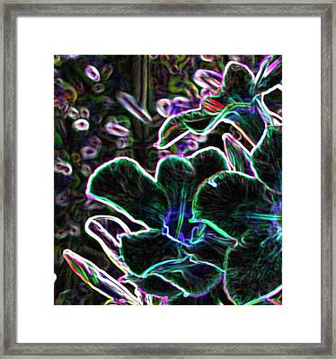 For Michael - May The Good Memories Of Your Sunlife Be With You And Make You Glow Framed Print