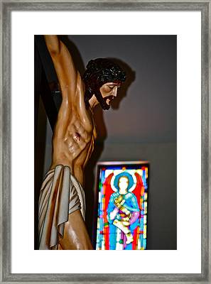 For My Sins Framed Print