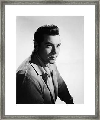 For The First Time, Mario Lanza, 1959 Framed Print