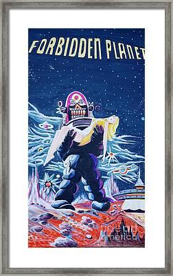 Forbidden Planet  Framed Print